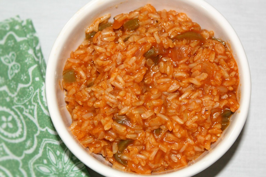 Spanish Brown Rice - Mindy's Cooking Obsession