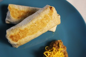 Chicken & Black Bean Burrito
