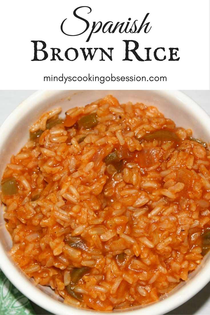 This is a healthier version of spanish rice.