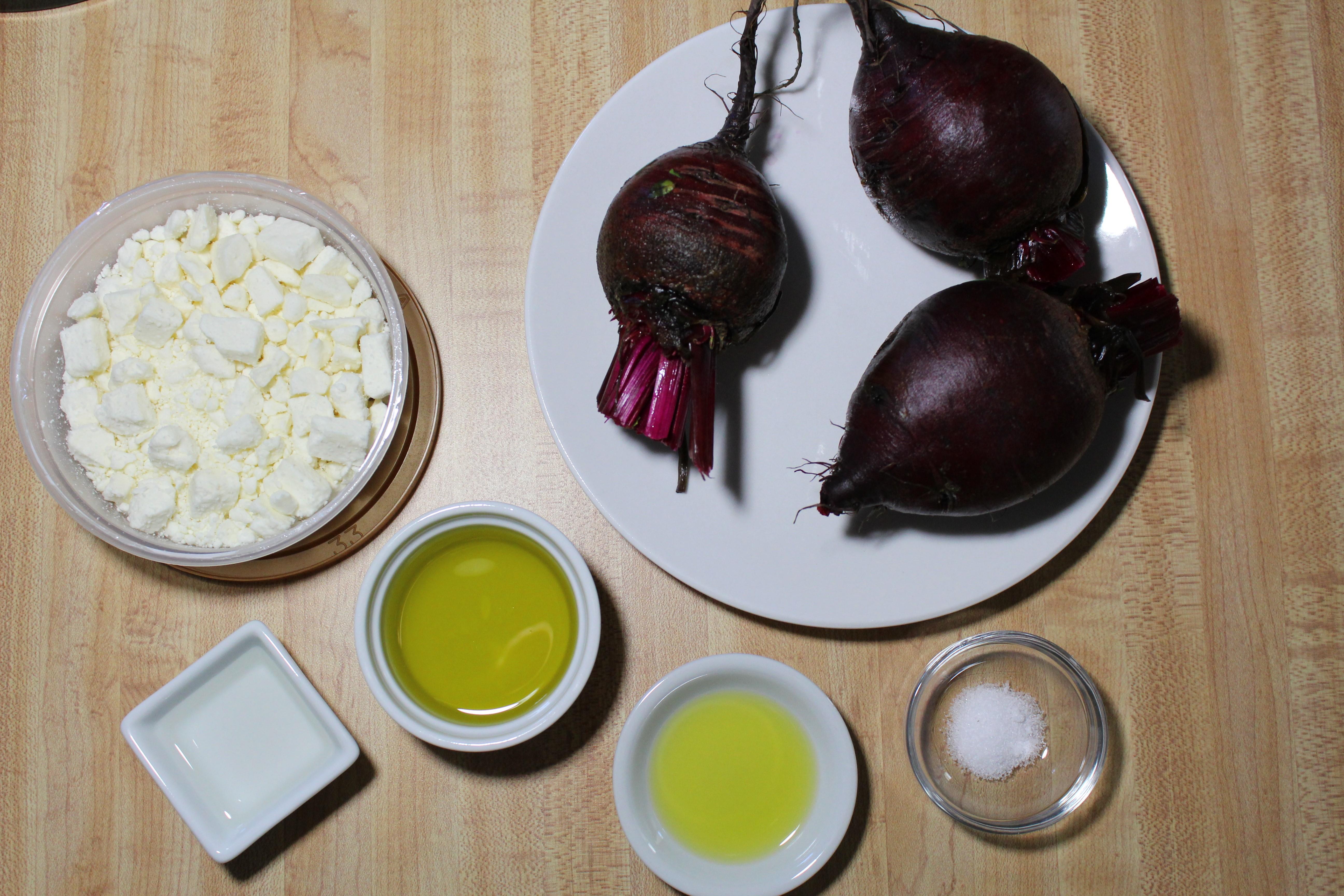 Beets & Feta Cheese