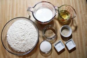 Buttermilk Yeast Roll Ingredients