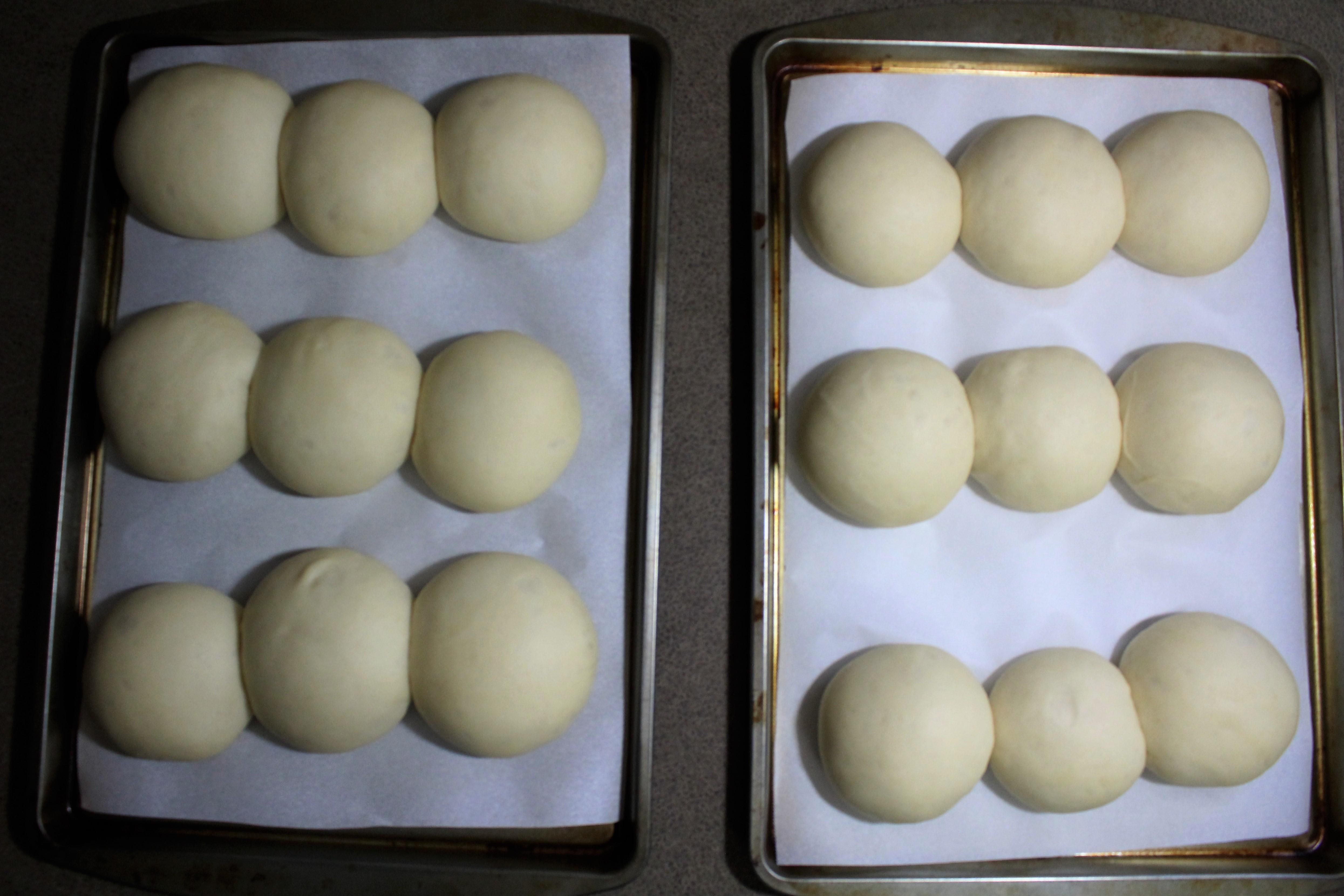 Buttermilk Yeast Roll - raised