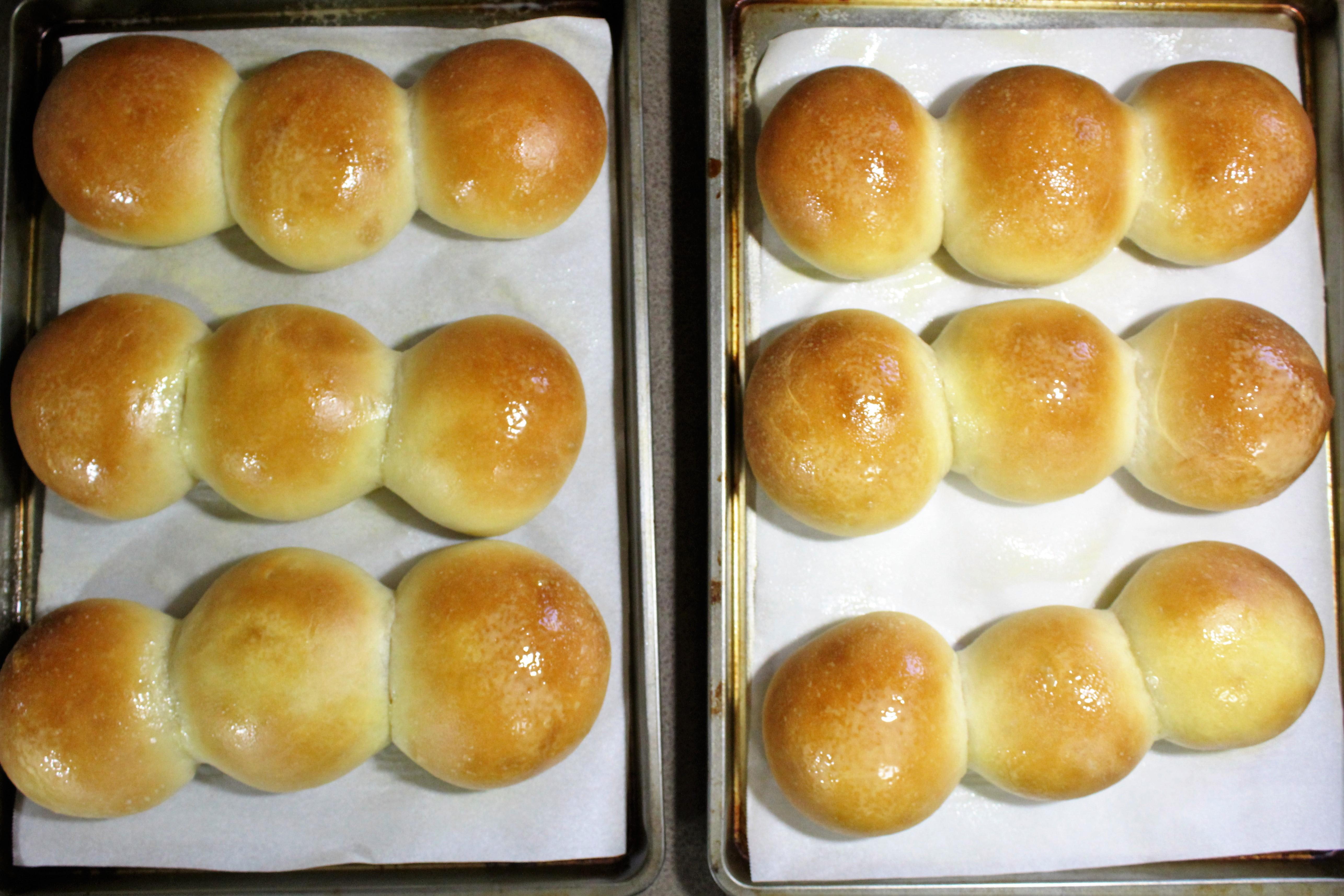 Buttermilk Yeast Roll - butter