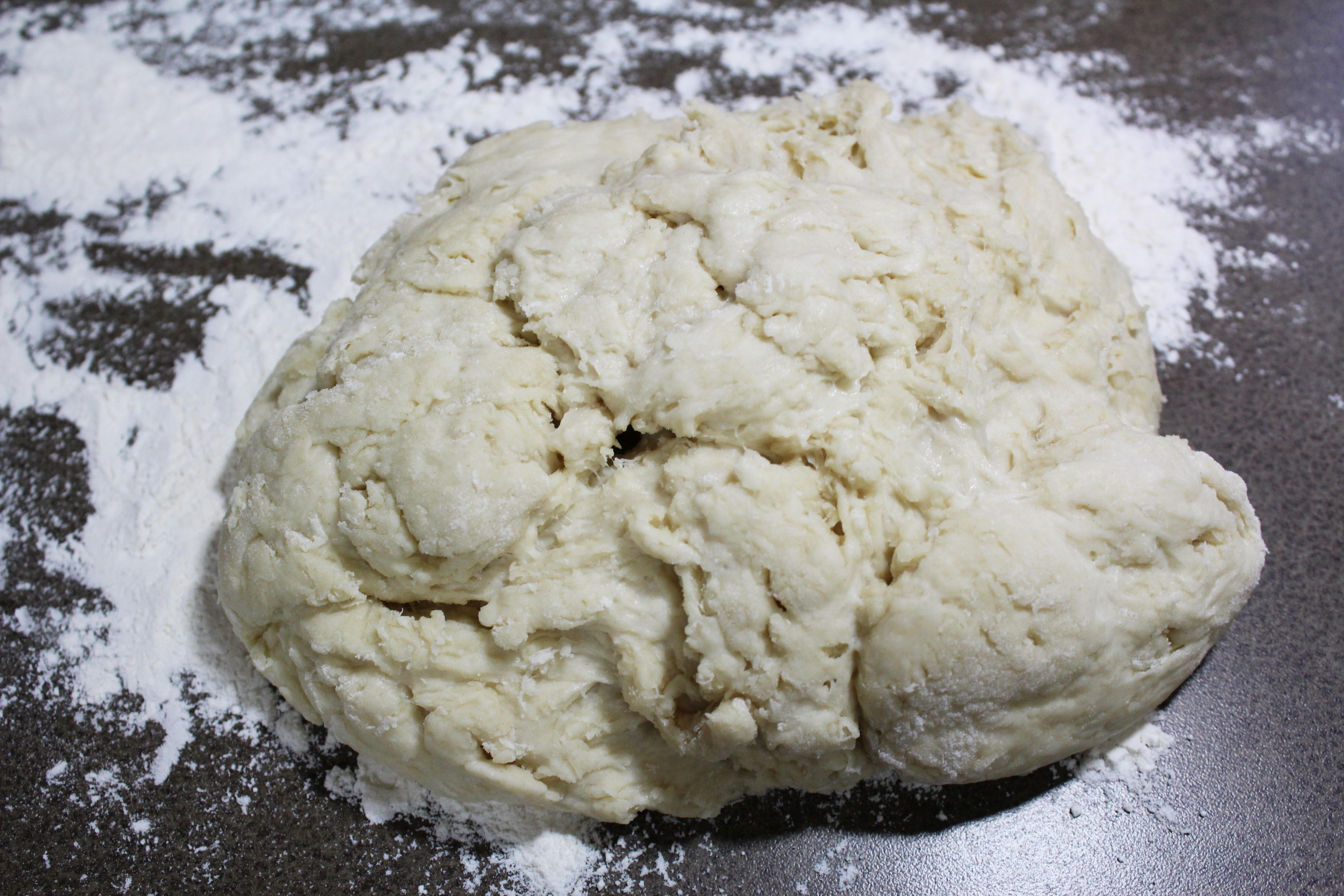Buttermilk Yeast Roll - doughball