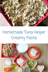 Homemade Tuna Helper Creamy Pasta