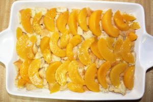 Peach French Toast Casserole
