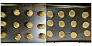 This Peanut Butter Cookie recipe comes from my Betty Crocker Cookbook. They are classic chewy peanut butter cookies. They are easy to make and travel well.