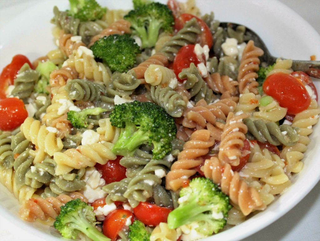 Garden Pasta Salad   Mindy's Cooking Obsession