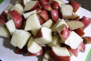 This potato salad recipe combines mayo and nonfat yogurt to make a light version of the classic dish. Great for summer barbecues and grilling or picnics.