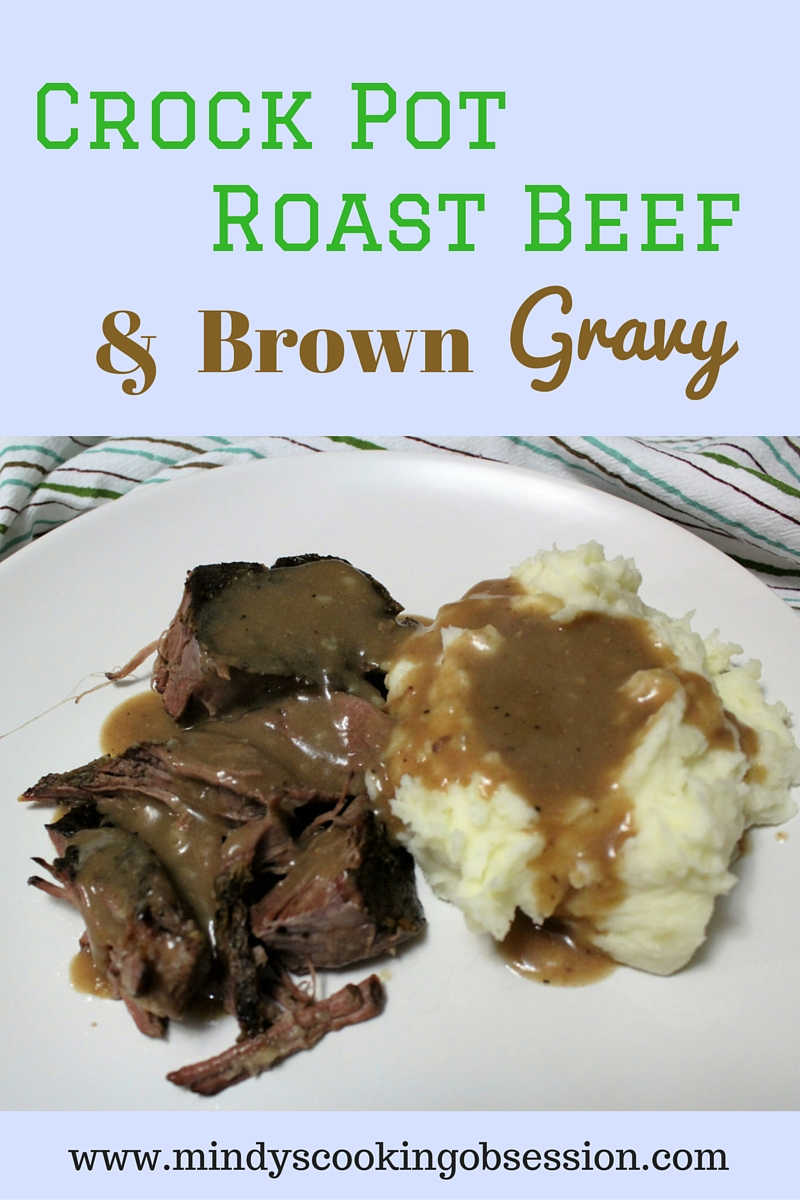 Looking for an easy and flavorful roast beef in the crock pot? Roast, salt and pepper are all you need to make this delicious recipe.