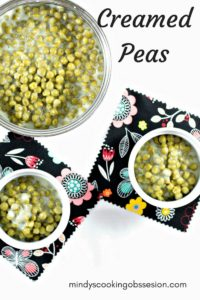 This Creamed Peas recipe will have your kids begging for peas. Canned peas, butter, milk, and sugar transform canned peas into a dish everyone will love.