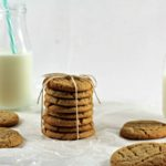 This Peanut Butter Cookie recipe comes from my Betty Crocker Cookbook. They are classic chewy peanut butter cookie. They are easy to make and travel well.