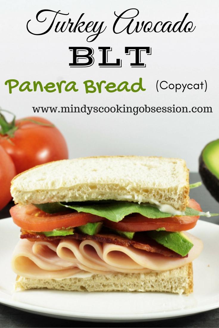 Panera Turkey Avocado Blt Copycat Mindy S Cooking Obsession