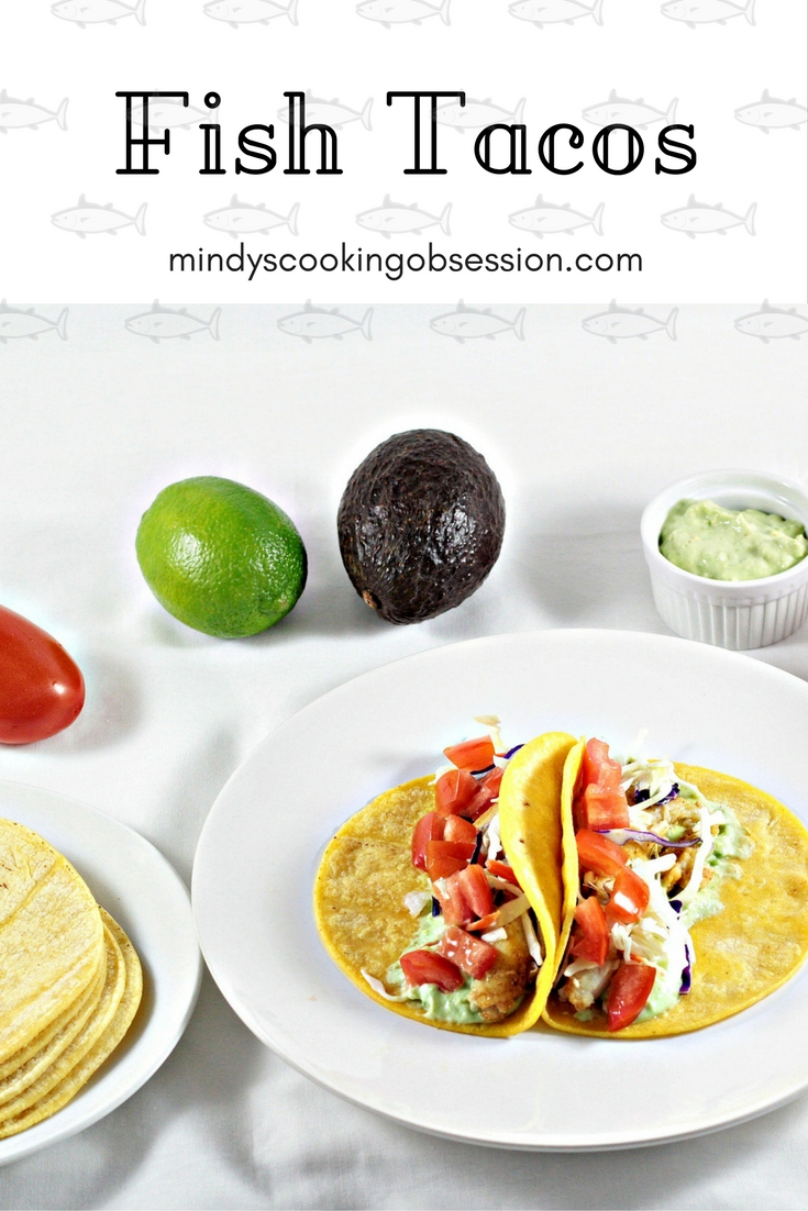 Fish tacos mindy 39 s cooking obsession for How to cook fish tacos