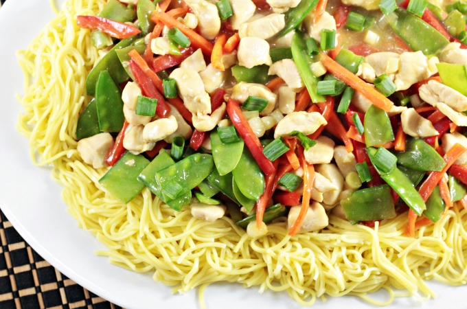 Lemon drop chicken chow mein mindys cooking obsession lemon drop chicken chow mein combines chicken chow mein noodles fresh vegetables soy forumfinder Image collections