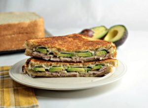 Grilled Turkey Avocado Ranch Cream Cheese Sandwich makes a quick, healthy and tasty lunch or dinner. Why go to the deli when you can make this at home?