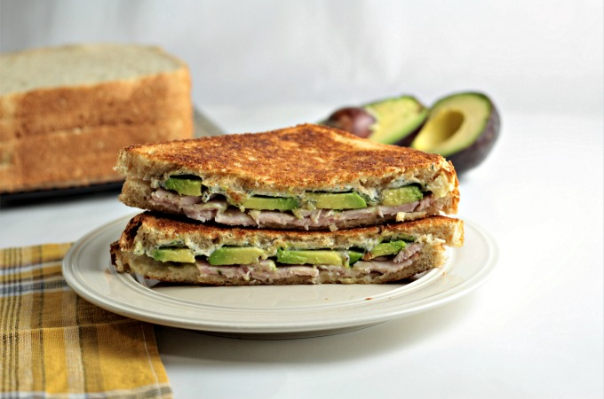 Grilled Turkey Avocado Ranch Cream Cheese Sandwich - Mindy's Cooking Obsession
