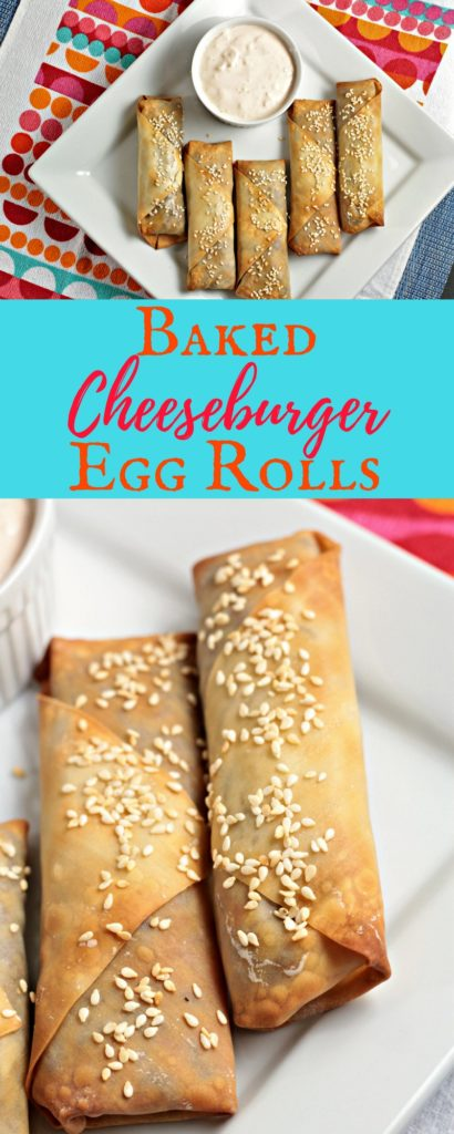 Baked Cheeseburger Egg Rolls are an American twist on this Asian classic. Ground beef, onion, cheese Worcestershire sauce, and mustard in a wonton wrapper.