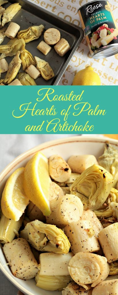 Roasted Hearts Of Palm And Artichoke Mindys Cooking Obsession