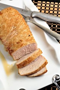 Easy Marinated Pork Tenderloin is marinated in a marinade of olive oil, soy sauce, Worcestershire sauce, brown sugar, and Dijon mustard, tender and juicy!