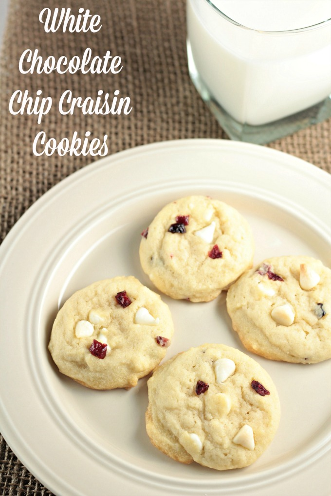Cookies With Craisins And White Chocolate Chips