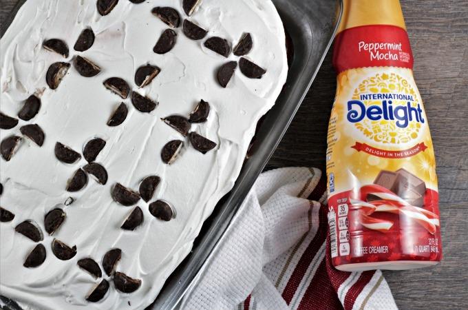 Peppermint Mocha Cake Recipe
