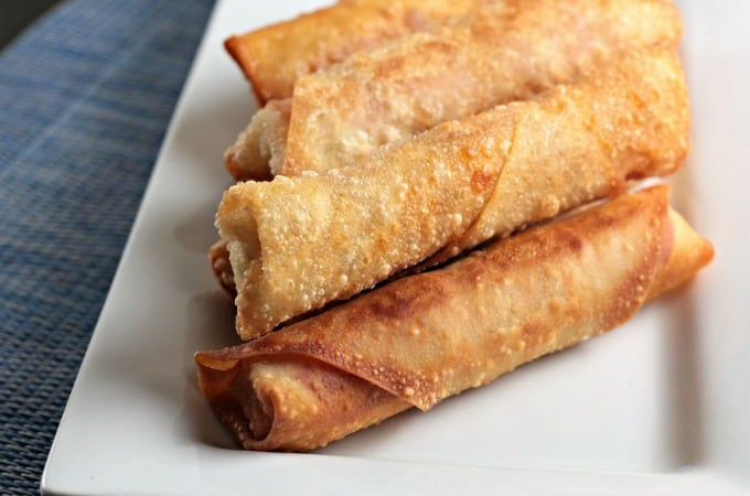 Pepperoni Pizza Egg Rolls Mindys Cooking Obsession