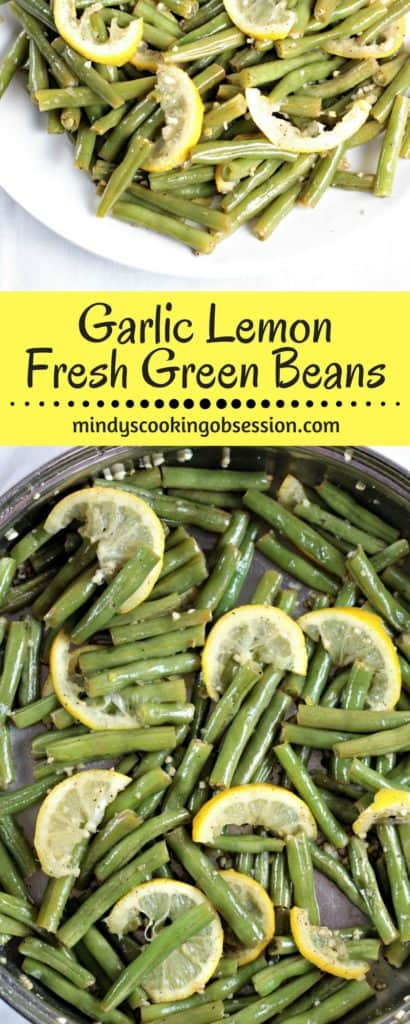 how to cook fresh green beans in water