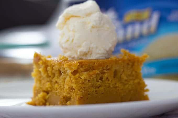 The Easiest Pumpkin Pie Cake Ever